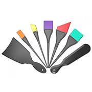 라 스프러쉬 세트 /실리콘재질/염색붓/염색솔/염색빗