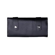 가위집 핸드메이드 지갑 Style 6~12정용 Triple Roll cass 블랙