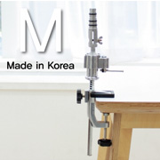 [W1] 풀 알루미늄 높이조절형 테이블 스프링 홀더 유니버셜 포스트 적용