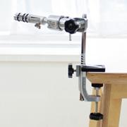 [W1] 풀 알루미늄 각도 조절형 테이블 홀더 이용사시험용 (인력공단 납품용)